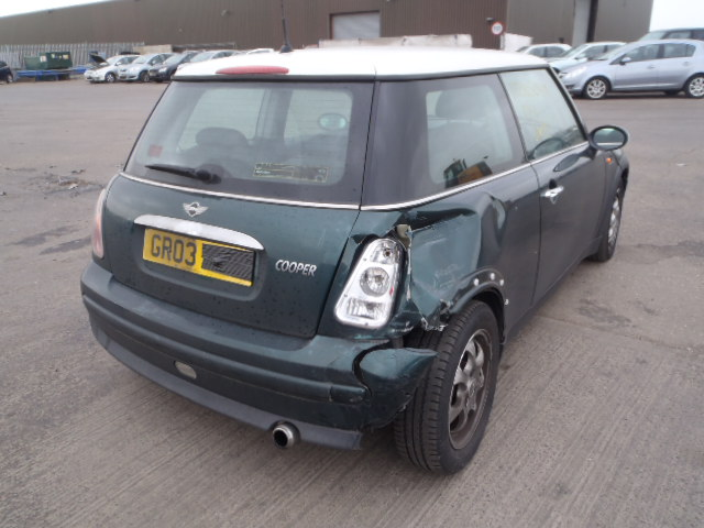 03 Green 1.6 BMW Mini Cooper - 2