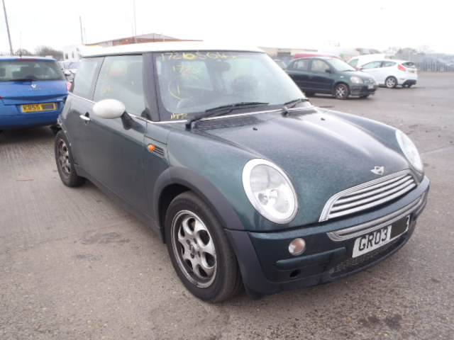 03 Green 1.6 BMW Mini Cooper - 1