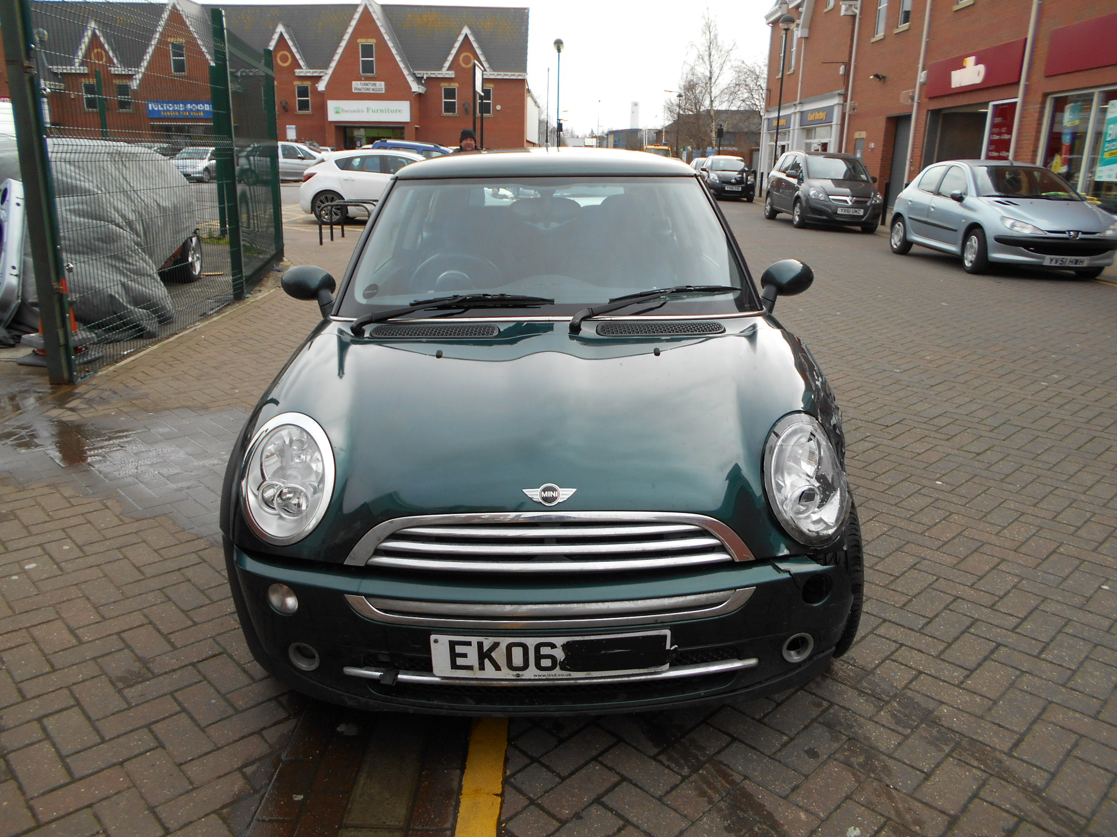 06 Green 1.6 BMW Mini One - 5