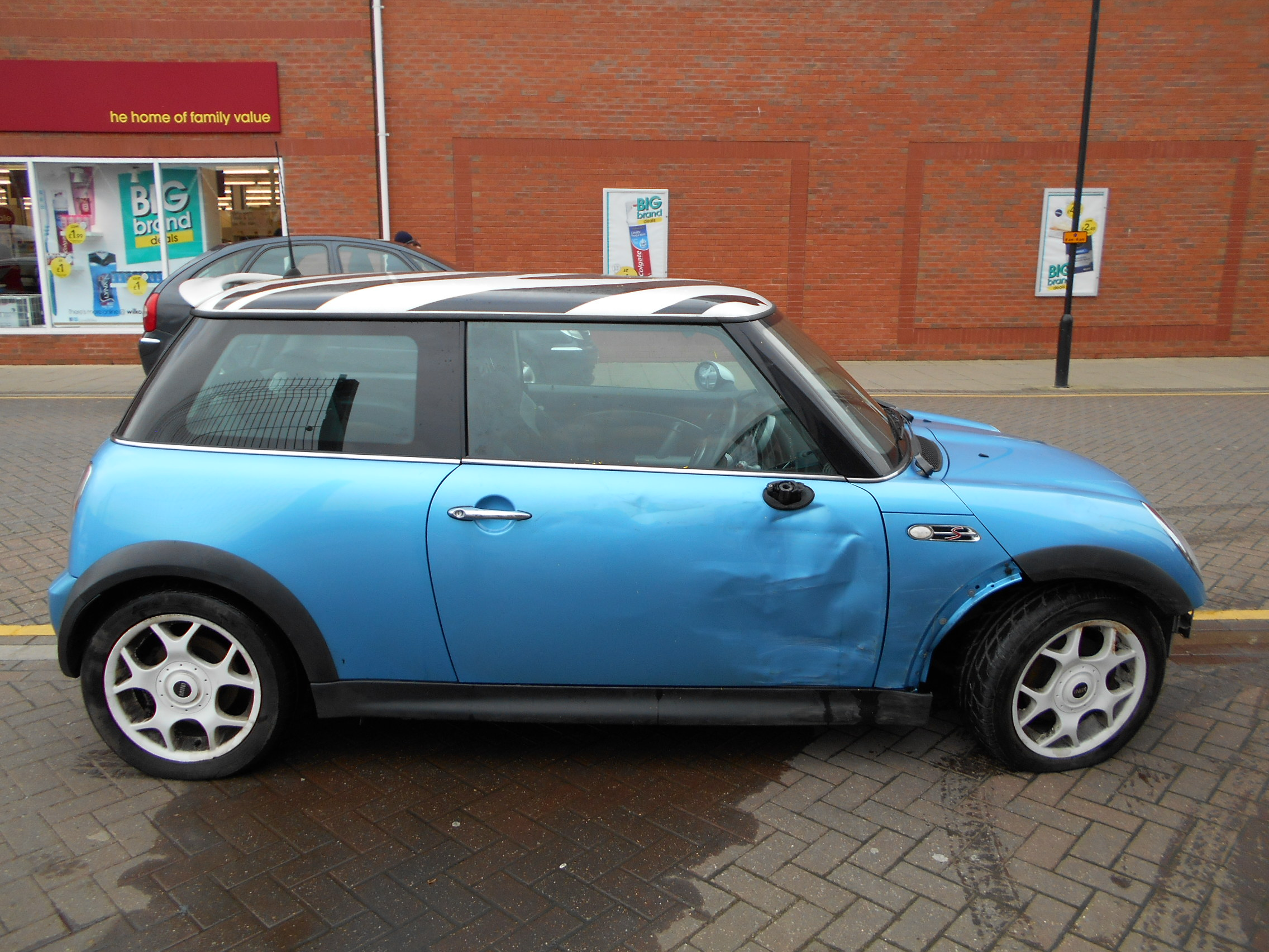 02 Blue 1.6 BMW Mini Cooper S - 1