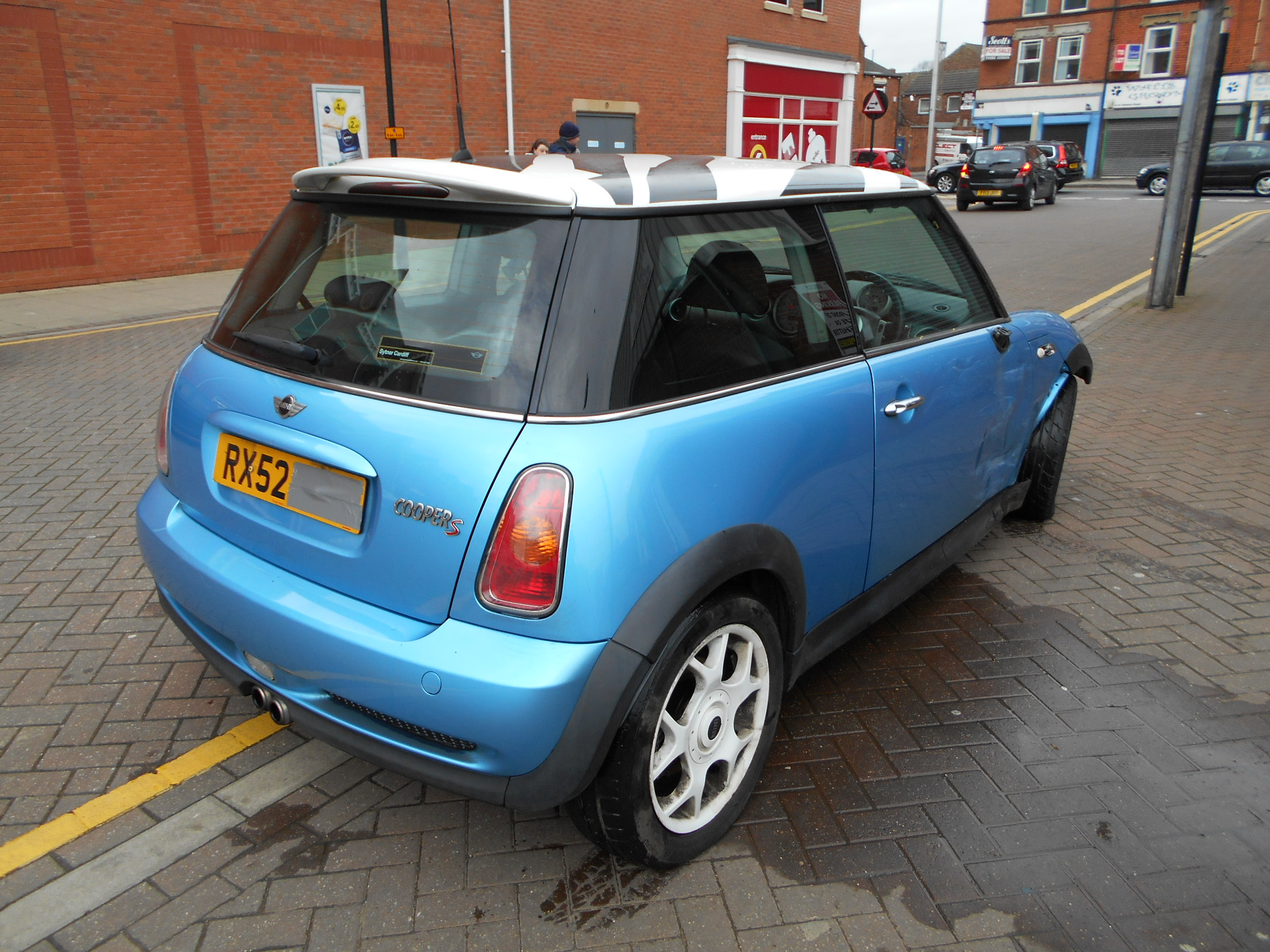 02 Blue 1.6 BMW Mini Cooper S - 4
