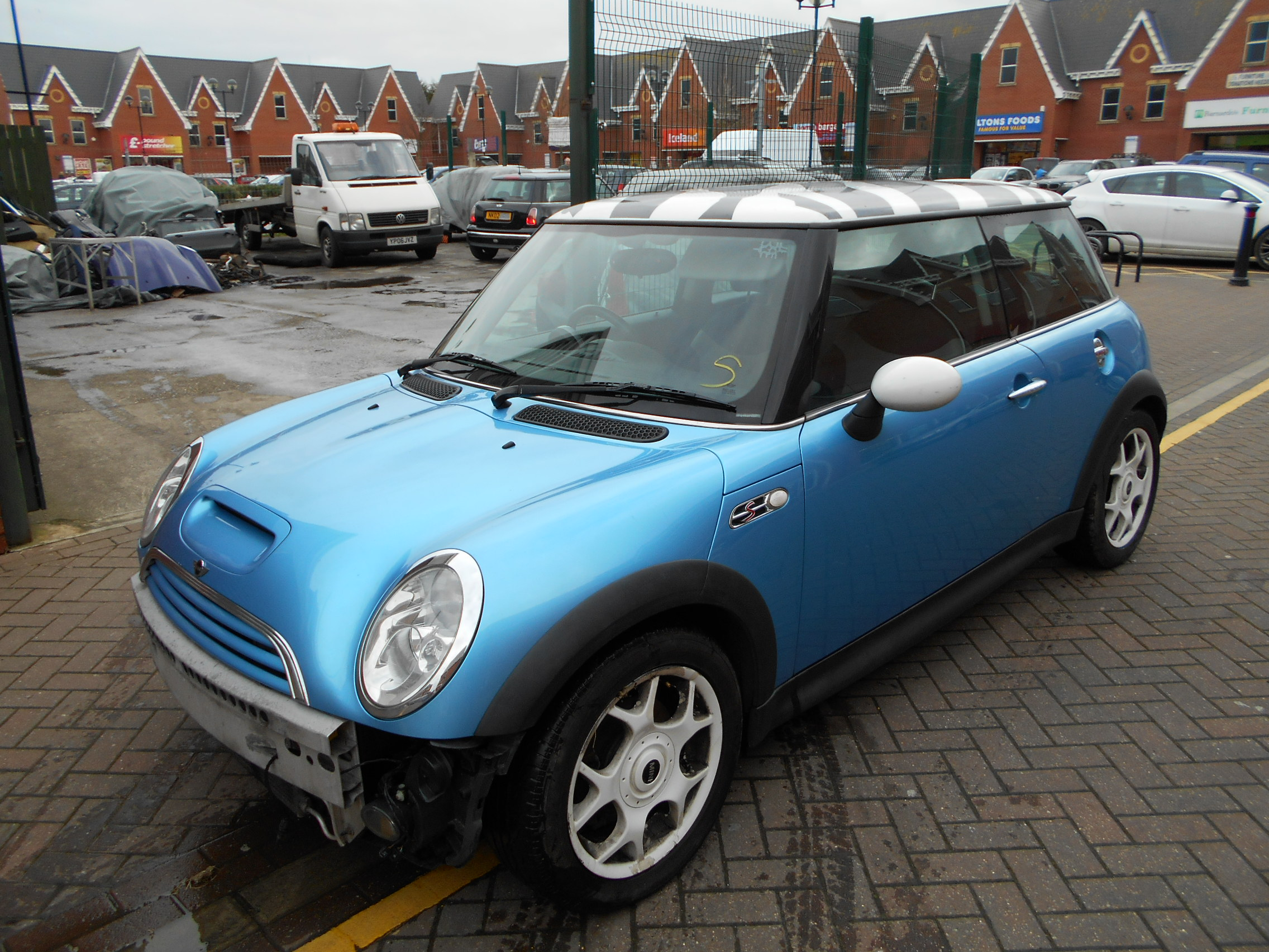 02 Blue 1.6 BMW Mini Cooper S - 3