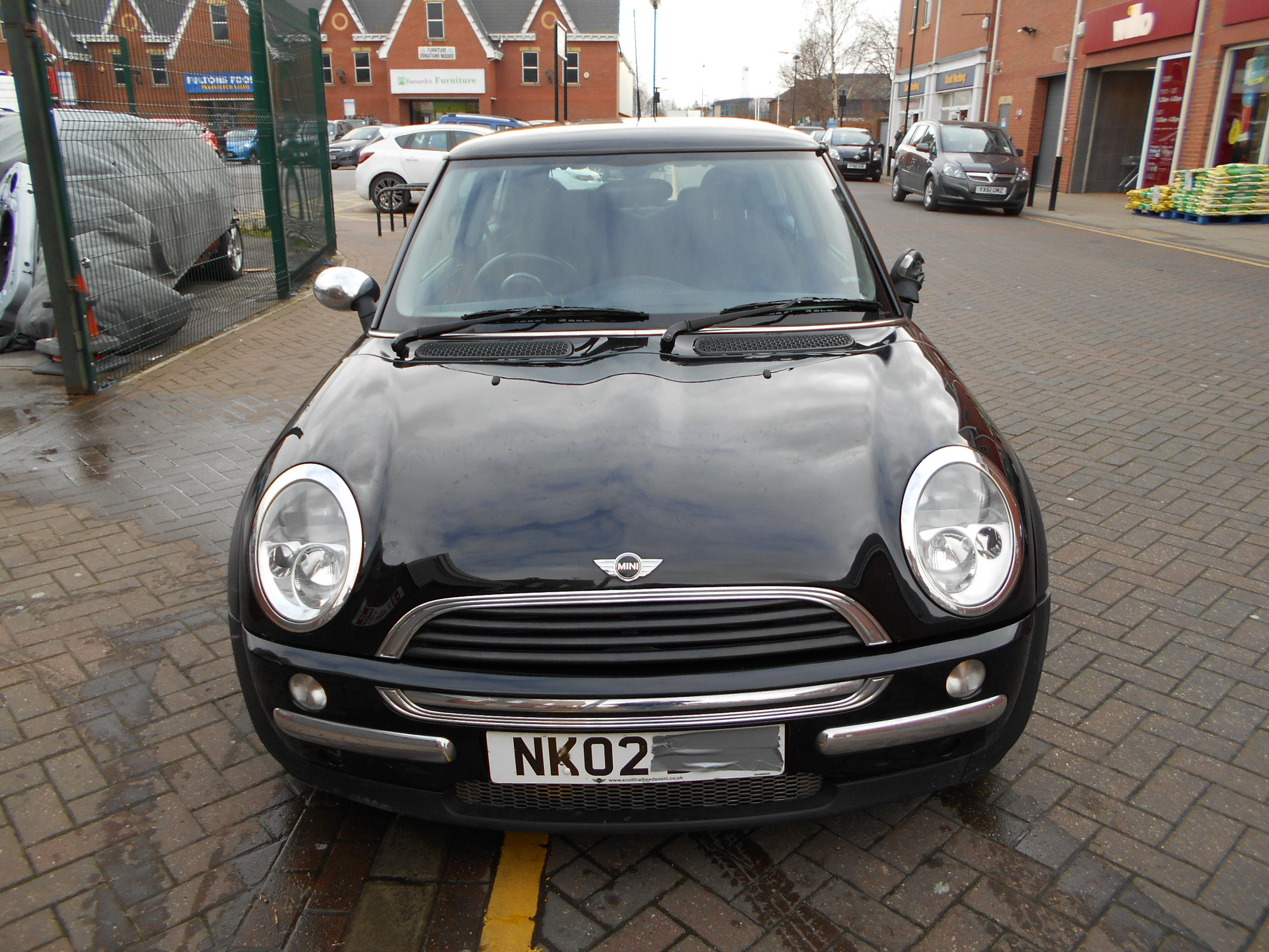 02 Black 1.6 BMW Mini One - 5