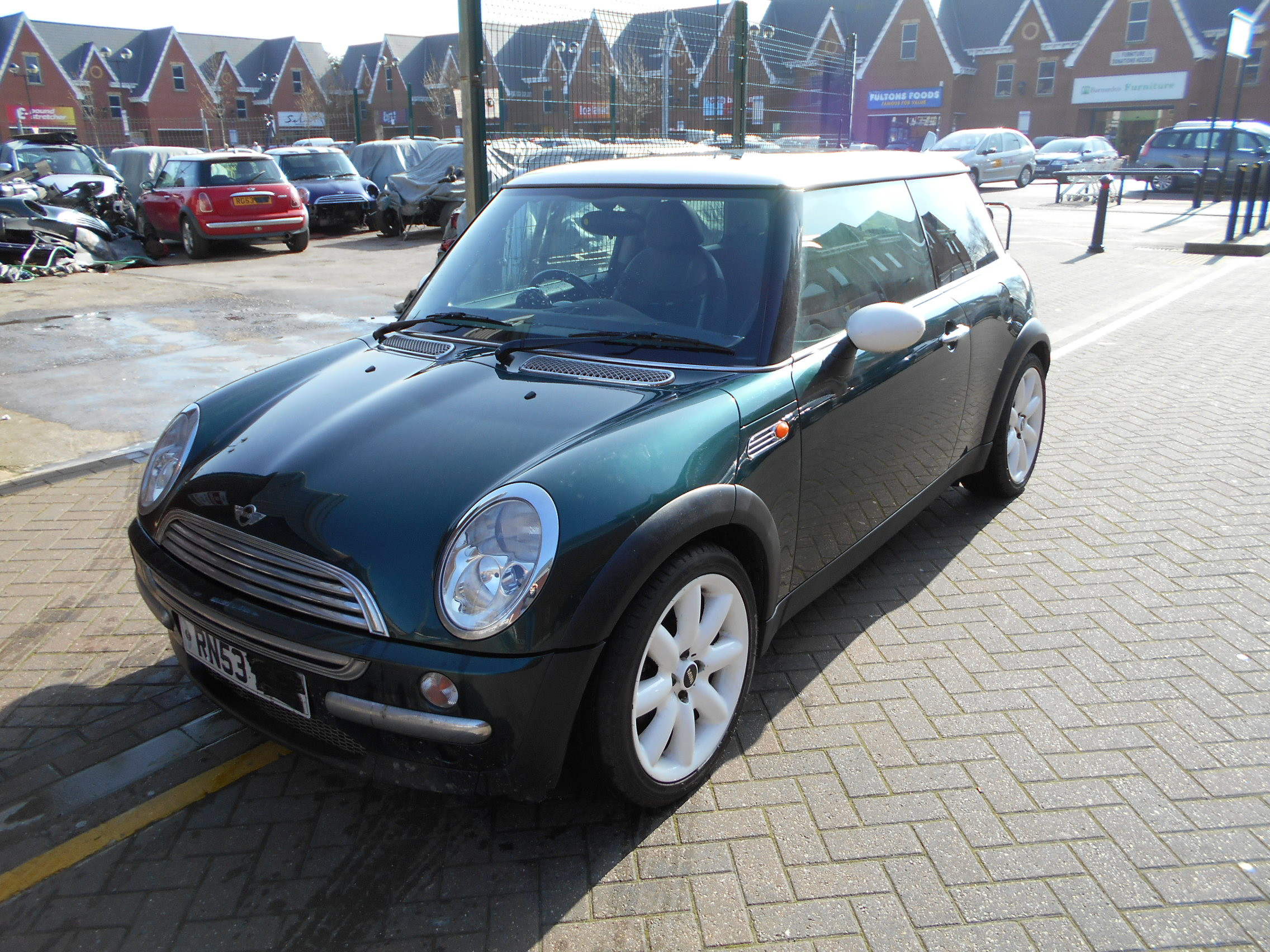 03 Green 1.6 BMW Mini Cooper - 3