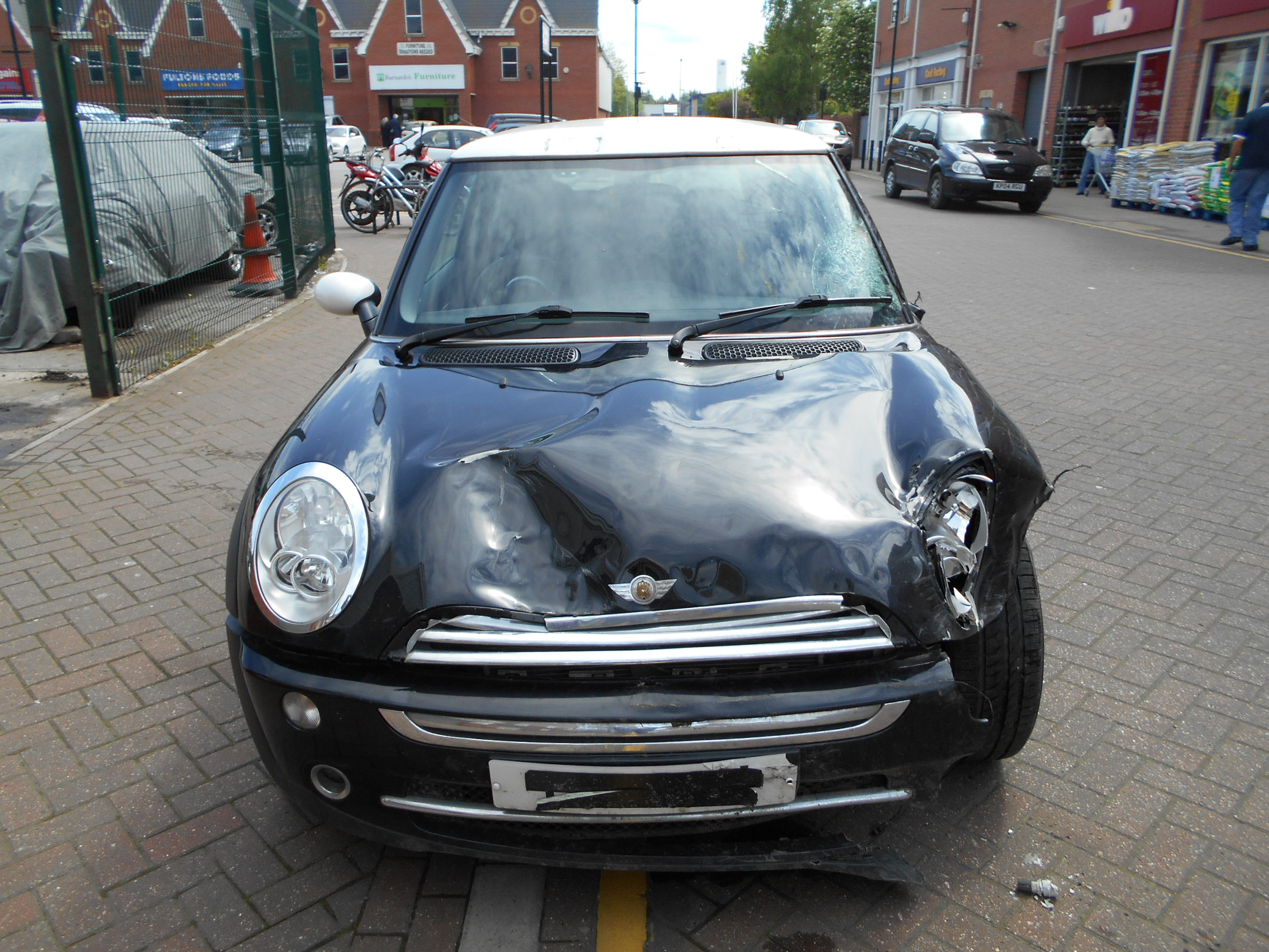 04 Black 1.6 BMW Mini Cooper - 5