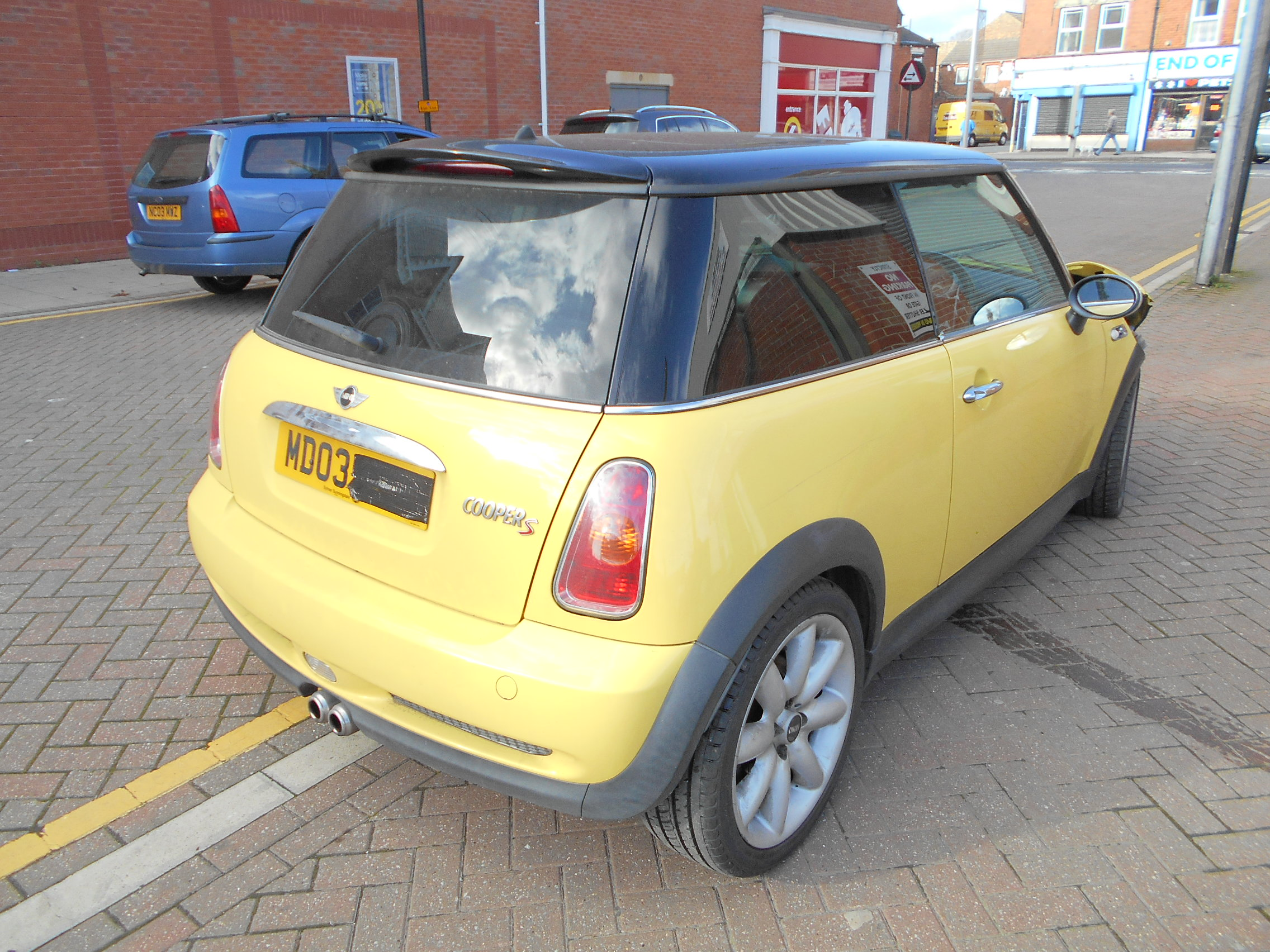 03 Liquid Yellow 1.6 BMW Mini Cooper S - 4