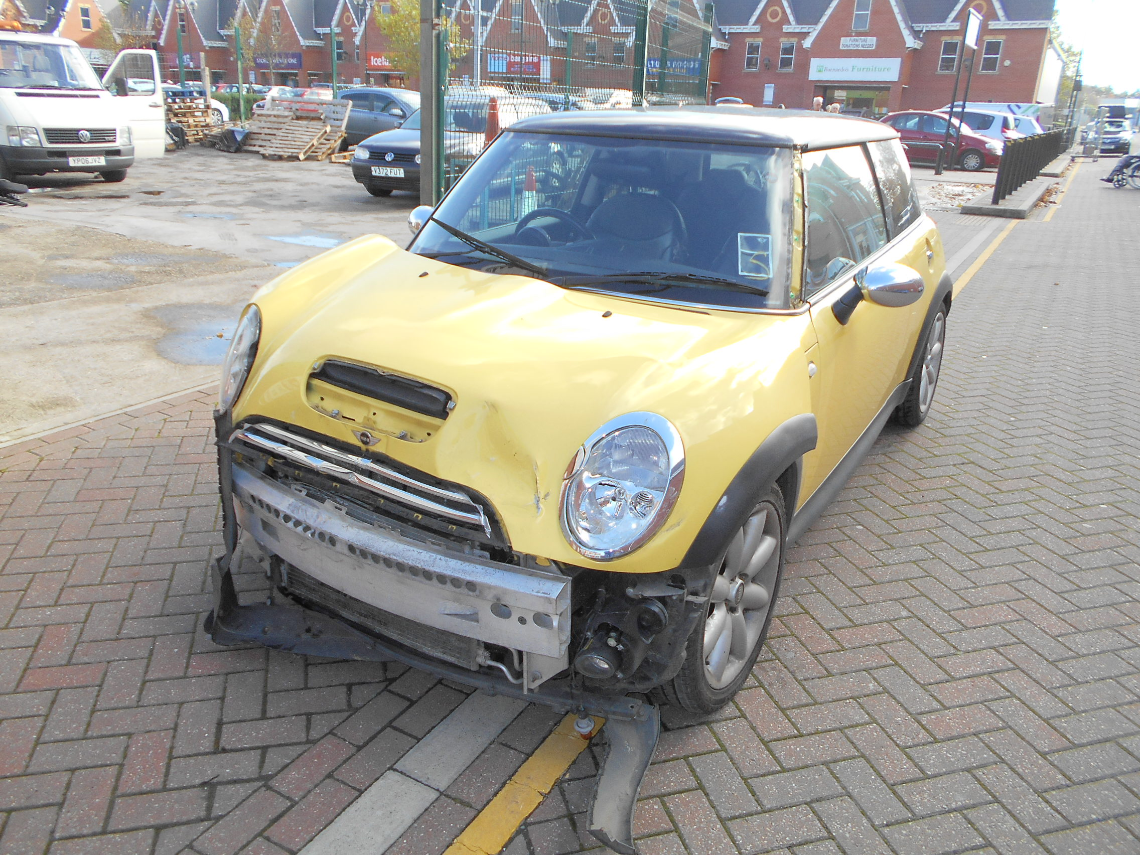 03 Liquid Yellow 1.6 BMW Mini Cooper S - 3