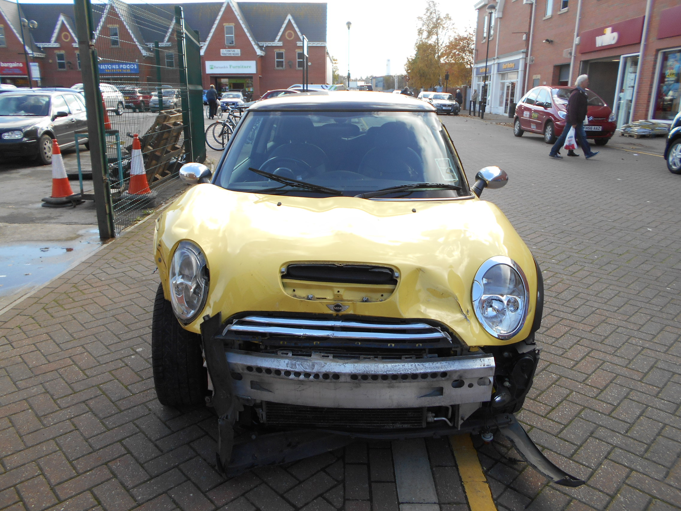 03 Liquid Yellow 1.6 BMW Mini Cooper S - 5
