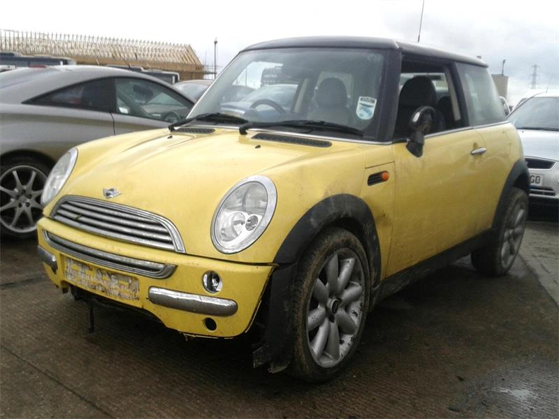 02 Yellow 1.6 BMW Mini Cooper