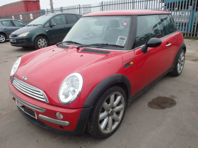 02 Red 1.6 BMW Mini Cooper