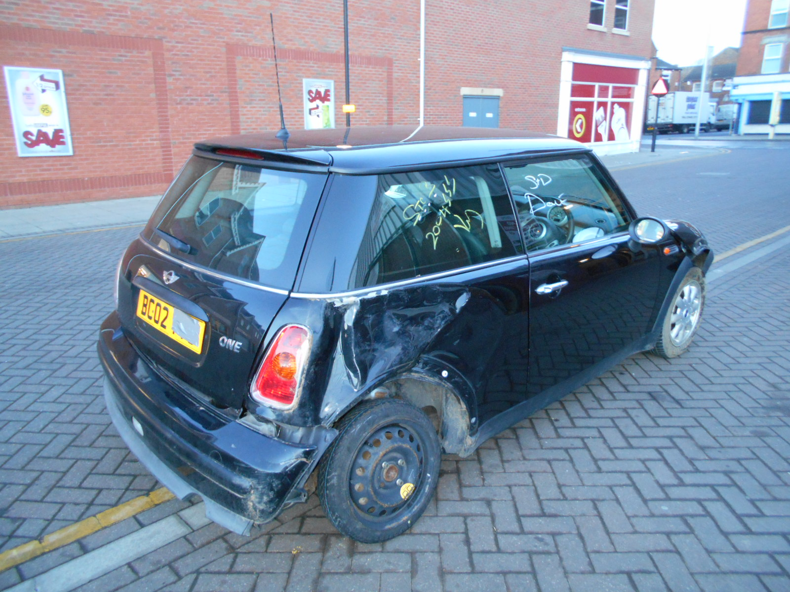 02 Black 1.6 BMW Mini One - 4