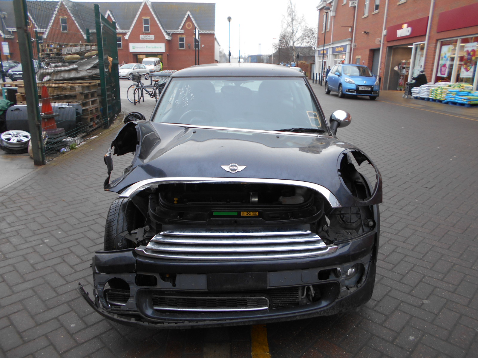 08 Black 1.4 BMW Mini One - 5