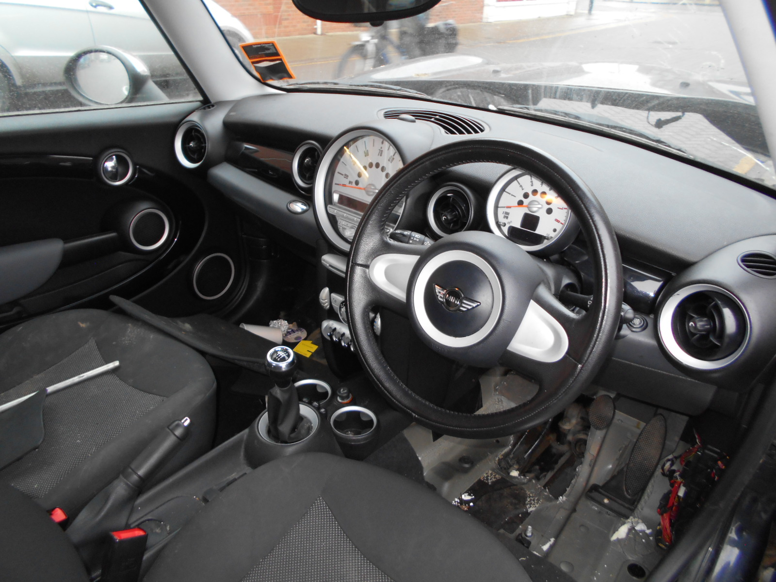 08 Black 1.4 BMW Mini One - 7